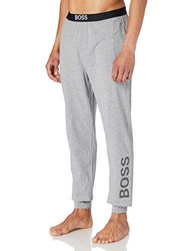 BOSS Identity Pants Pantaln de Pijama, Medium Grey33, S para Hombre