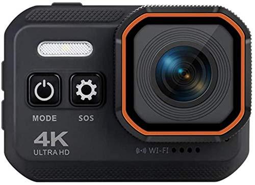 Cámara de acción 16MP 2 pulgadas doble pantalla 170 grados ángulo de disparo ancho 4K deporte Cam subacuático impermeable casco cámaras de grabación de vídeo