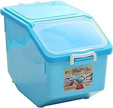Nfudishpu Storage Box Kitchen Grain Nfudishpu Storage Box Moisture-Proof Sealing Pet 12kg Food Sundries Dried Fruit Storag...