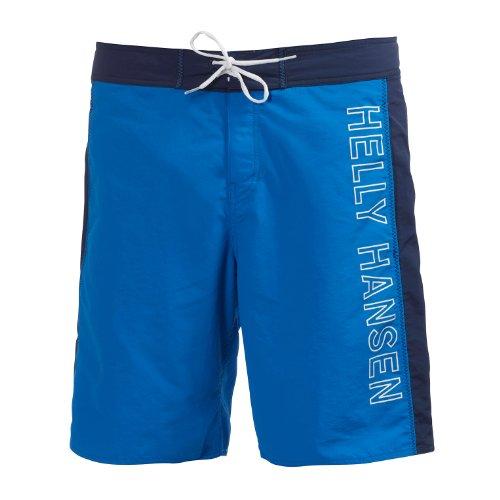 Helly Hansen HH Logo Short - Pantalón Corto para Hombre, Color Azul, Talla 33