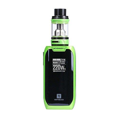 [Original Auf Lager] Vaporesso Revenger X Kit Tank 2ml E Zigarette Starter Kit/ Vaporizer / Elektronische Zigarette ohne Tabak - ohne Nikotin-(Grün)