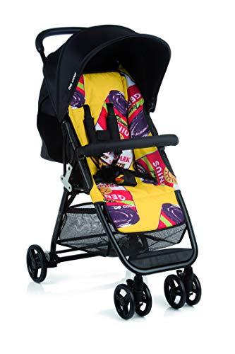 Be Cool Zas Silla de Paseo Plegable, Uso desde Recién Nacido, Ligera con Chasis de Aluminio, Color Pop