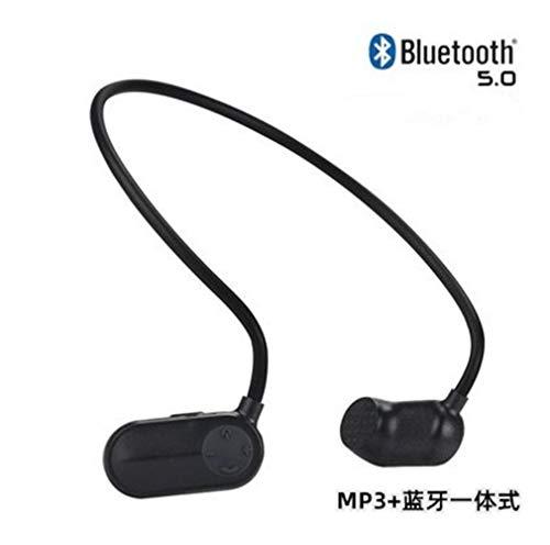 KAIXIN Schwimmen Kopfhörer, Kopfhörer wasserdicht Knochen Schwimmen mit Bluetooth 5.0 / 8GB / 16GB / 32GB for Laufen/Radfahren/Training/Jogging/Tauchen Wasser (Color : C, Size : 32G)