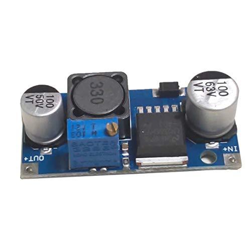HW-677 Q65 48V einstellbares Modul DC-LM2596HVS Eingang 4,5-50V Spannungswandler Stabilisator Netzteil Buck Modul (blau)