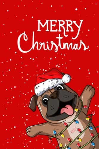 puggle: Christmas Notebook puggle Lined Journal/Notes Christmas, Holiday Notebook: Lined Notebook, Christmas Notes