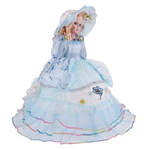 freneci 18 Pollici retrò Porcellana Victoria Doll in Piedi Bambola in Ceramica Giocattolo...