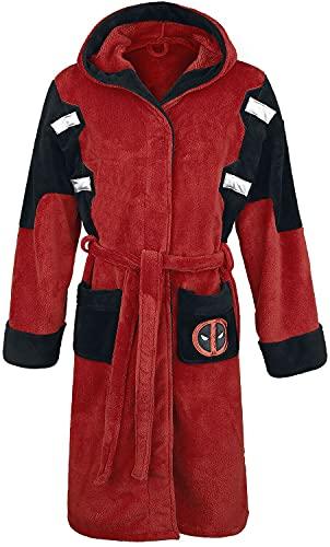 Deadpool Bademantel für Herren, rot, M