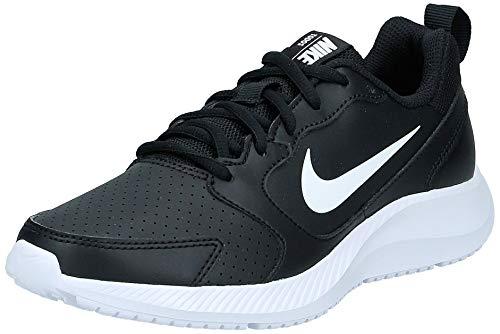 Nike Women's WMNS Todos Running Shoe, Black/White, 8 Regular US