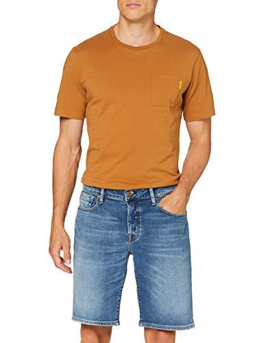 Scotch & Soda Mens Ralston Midday Denim Shorts, Middle Blauw 3768, 32W