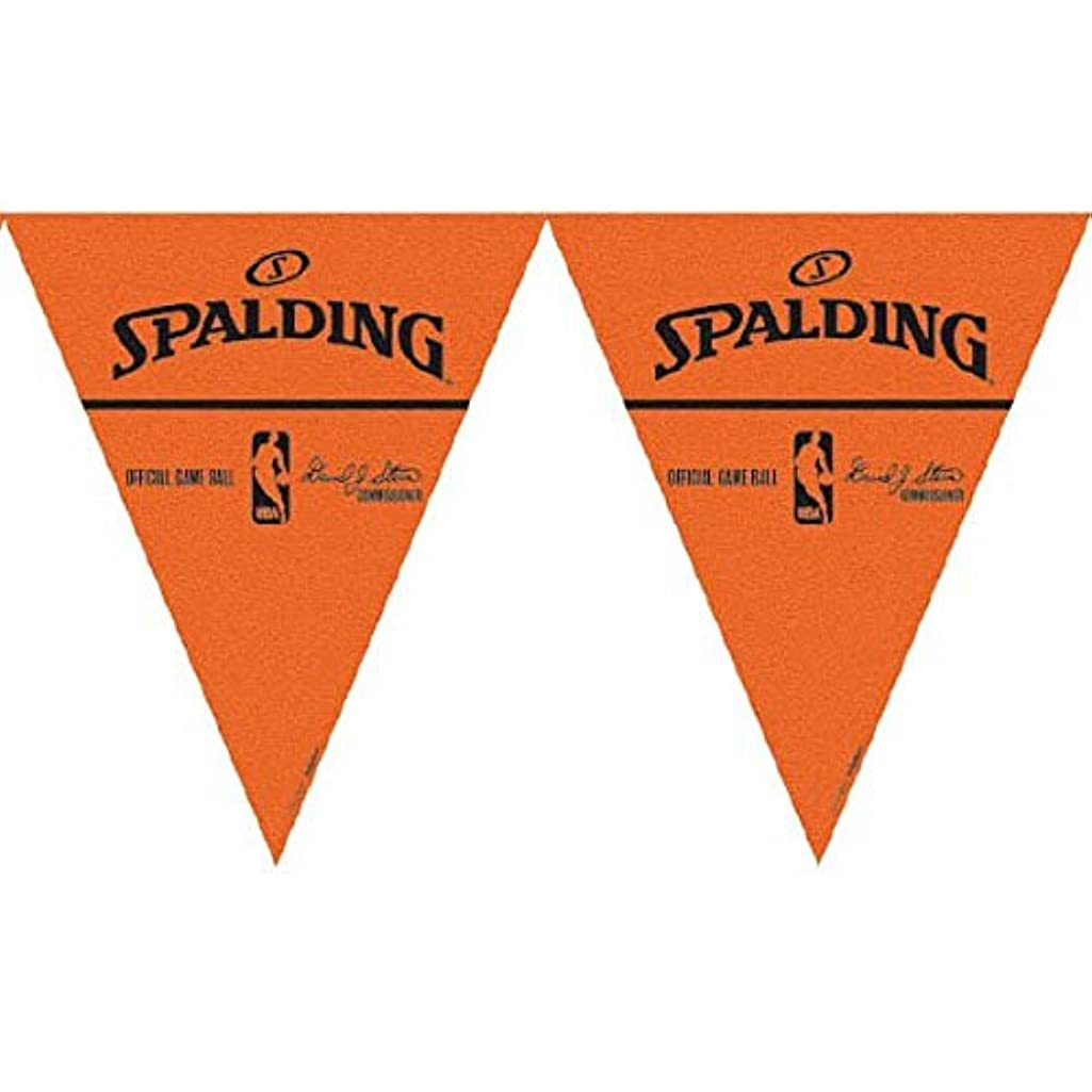 Spalding Basketball Collection Pennant Banner, Party Decoration