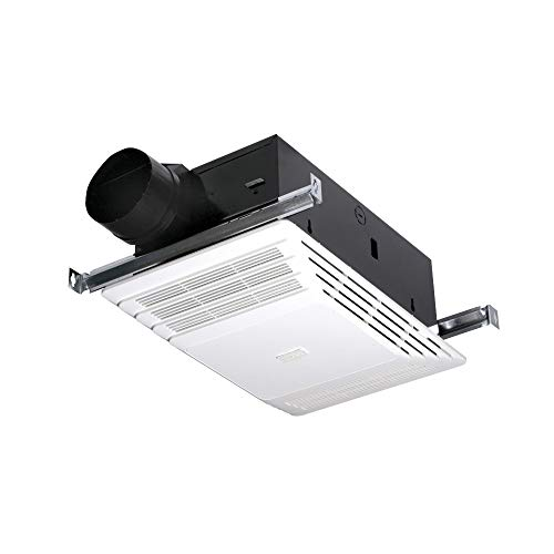 Broan-Nutone  658  Heater and Fan Combo for Bathroom and Home, 4.0 Sones, 1300-Watts, 70 CFM