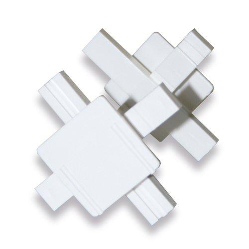 25 Stück Verlegekreuze Fugenkreuze für Glasbausteine in 8cm Stärke für 10mm breite Fugen