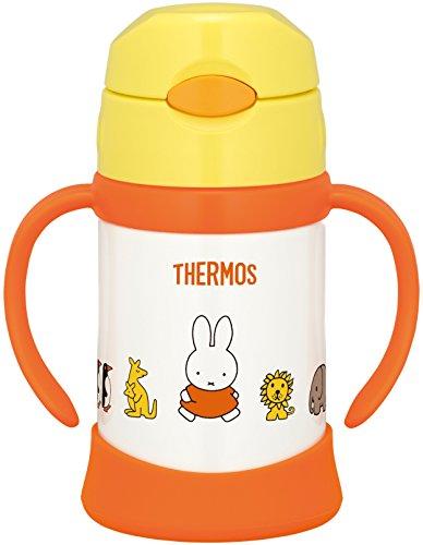 From Thermos Vakuum Insulation Baby Straw Tasse Miffy (Gelb) 9 Monster Around May