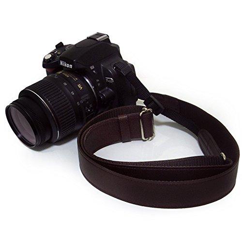 かばん屋さんが作った レザー カメラストラップ 一眼レフカメラに (ロング キャメル)