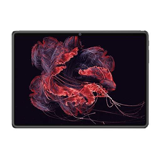 ACAMPTAR Tablet PC de 10 Pulgadas Android 9.0 Ultra Delgado 1GB 16GB ROM 2.5D Vidrio Templado WiFi GPS 5.0MP 10.1 Tabletas Enchufe de la EU Negro