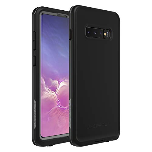 LifeProof Frē - Funda estanca y Anti caídas para Samsung Galaxy S10+, Negro