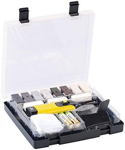 AGT Reparaturset: Reparatur-Set WRS-11.pvl für Kunststoff-Oberflächen (Vinyl Reparaturset)