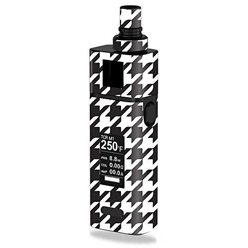 MightySkins Skin Compatible with JoyeTech Cuboid Mini 80W – Houndstooth | Protective, Durable, and Unique Vinyl Decal wrap Cover | Easy to Apply, Remove, and Change Styles | Made in The USA