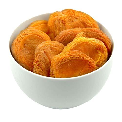 Sultan's Palace Getrocknete Pfirsiche in Bester Premium Qualität – Halbe Früchte, Entsteint, Ohne Zucker – Getrocknete Pfirsich Hälften für Müslis und Bowls – Veganer Frucht Snack (Glutenfrei)