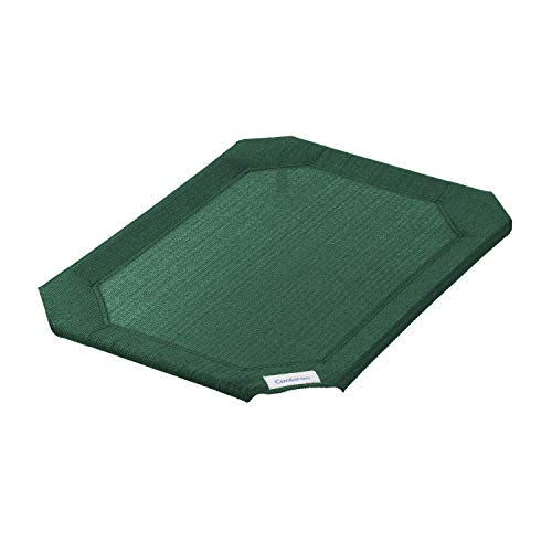 Coolaroo Replacement Cover, The Original Elevated Pet Bed by Coolaroo, Medium, Brunswick Green (317706)
