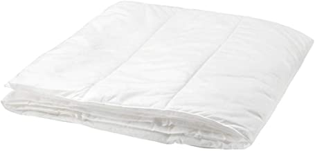 Ikea Polyester Double/Full Size Solid Pattern,White - Quilts