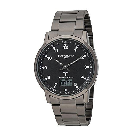 Masterline1966 Uhr Analog-Digital mit Edelstahl Armband ML06128011