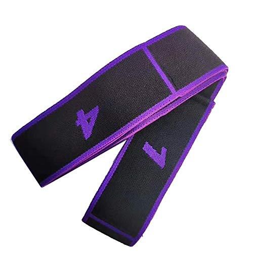 Grisen - Correas elásticas para yoga con banda elástica   eBook extra   con duradero para pilates y entrenamientos de gimnasio   mantiene poses, estiramiento, mejora la flexibilidad y mantiene el equilibrio, E