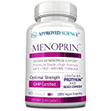 Menoprin - Rapid Menopause Relief - Relieve Hot Flashes & Mood Swings - 1 Bottle Menoprin Day - 60 Capsules