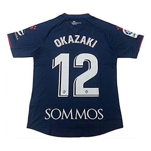 スペインリーグ SDウエスカ 岡崎慎司レプリカユニフォーム 2019-20 1st ネーム「OKAZAKI」 L