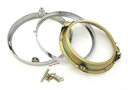 Chrome Headlight Rim Retainer Assembly - CB450 CB500 CB550 CB750 GL1000