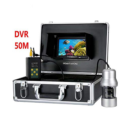 Great Features Of WG HDUnderwater Fishing Camera 0-360 Degree View, Remote Control, 7 Inch LCD Monit...
