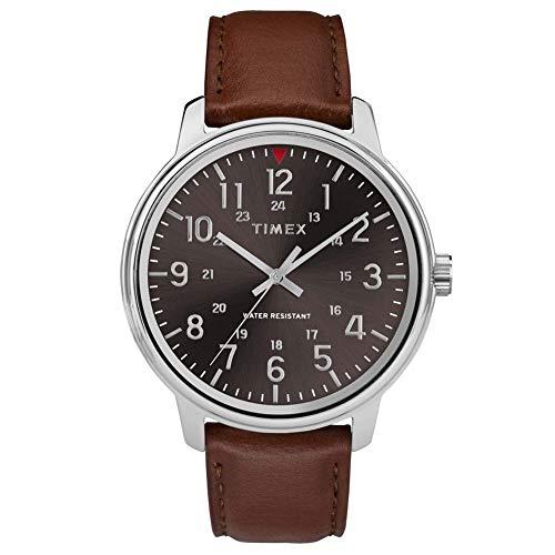Timex Reloj Análogo clásico para Hombre de Cuarzo con Correa en Cuero TW2R85700