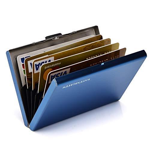 RFID Credit Card Holder Metal Wallet Stainless Steel Credit Card Protector Case