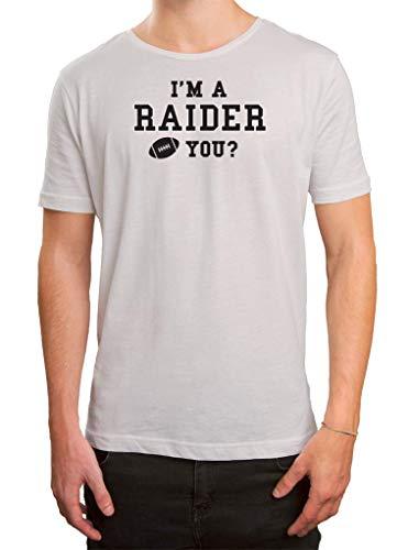 Preisvergleich Produktbild Raiders American Football Oakland Any Given Sunday T-Shirt Herren Herrenshirt,  Größe:S,  Farbe:Weiß (White L190)