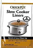Crock Pot スロークッカーライナー 30ライナー 3-7クォートにフィット (6枚入り5パック)