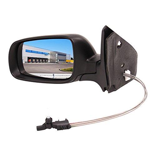 Preisvergleich Produktbild Außenspiegel Spiegel links asphärisch manuell grundiert