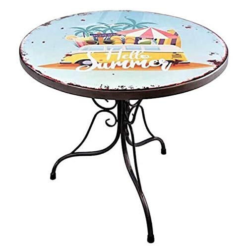 MATHI DESIGN California - Table Repas Multicolore