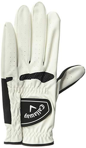 Callaway Xtreme 365 Herren Golfhandschuhe (2er Pack) Linke Hand (Für den Rechtshänder Golfer) Weiß Groß