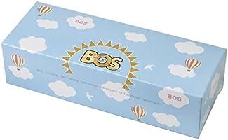 驚異の防臭袋 BOS (ボス) おむつが臭わない袋 Sサイズ 大容量 200枚入り 赤ちゃん用 おむつ 処理袋【雲柄パッケージ/袋カラー:白色】