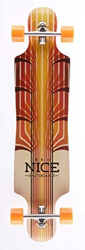 Nice Alaia Longboard Mixte Adulte, Multicolore, 9,25\