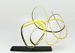 Encuentro Perdido,Escultura metalica con pintura electrosoldada