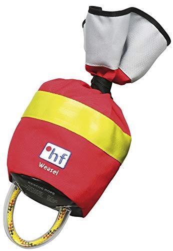 HF Wurfsack Weasel 18m, 7,5mm, Farbe:rot/gelb