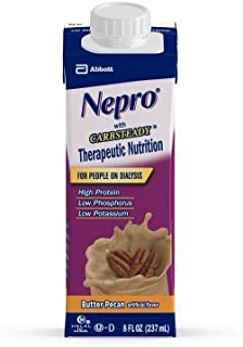 Nepro Ready-to-Drink Butter Pecan Institutional w/ Carb Steady 8 oz Can -24 ct.