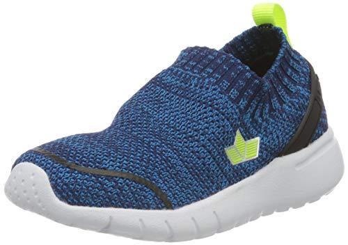 Lico Elmira, Zapatillas de Marcha Nórdica para Hombre, Azul Blau/Lemon, 41 EU