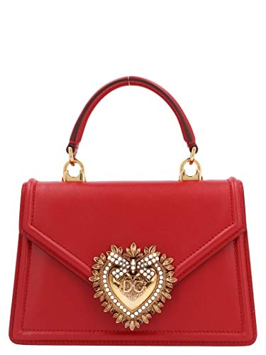 Luxury Fashion   Dolce E Gabbana Donna BB6711AV89387124 Rosso Borsa A Mano   Autunno Inverno 19