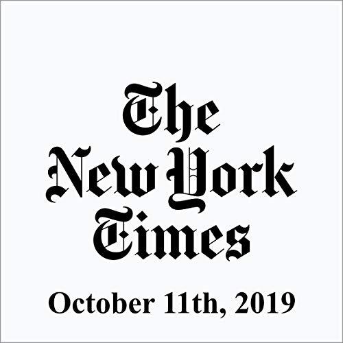 October 11, 2019 cover art