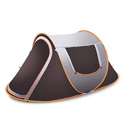 miwaimao - Tienda de campaña plegable para adultos al aire libre, para acampada, senderismo, acampada, senderismo, camping, playa, 245 x 145 x 110 cm, tamaño 2