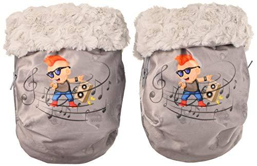 Babyline handschoenen voor kinderwagen, met wind- en waterbescherming