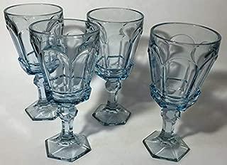Fostoria Wine/Parfait Glasses - Colonial Pattern - Set of 4