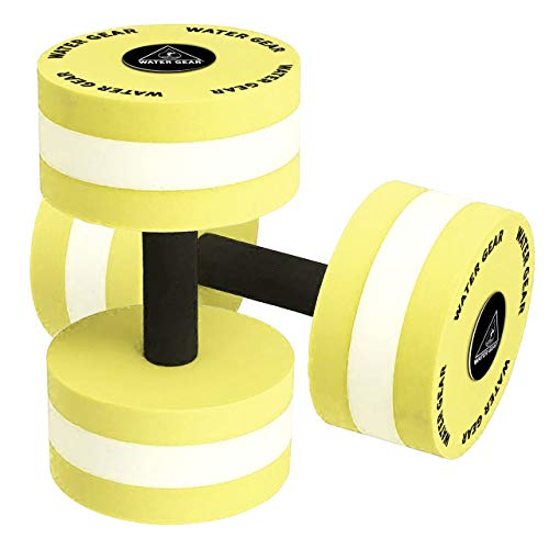 Water Gear Hydro Buoys Minimum - Water Fitness and Pool Exercise - Rehab and Full Recovery Workout - Less Stress on Joints (60% Resistance)